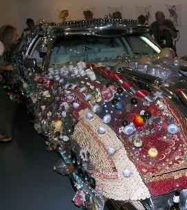 Art Car Museum Houston Texas, 1972 Cadillac Eldorado