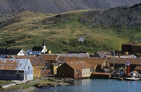 Grytviken, South Georgia Islands (Photo by Dave G. Houser)
