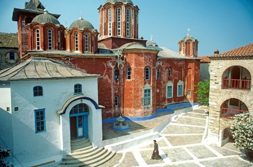 Holy Mount Athos Greece (Photo by Dave G. Houser)