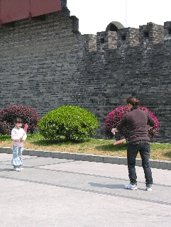 Shanghai China Old Wall (David G. Molyneaux, TheTravelMavens.com)