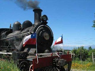 Chile's Colchagua Valley wine train