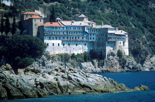 Mount Athos Greece mosastery (Photo by Dave G. Houser)