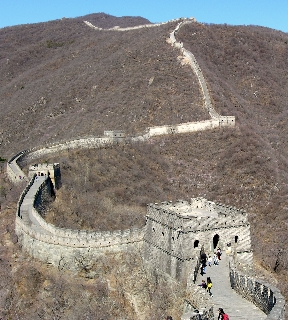 Great Wall of China, Mutianyu section (Photo by David G. Molyneaux, TheTravelMavens.com)