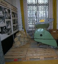Paper shredder at Leipzig Stasi museum. (Photo by David G. Molyneaux, TheTravelMavens.com)