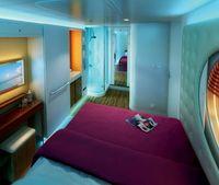 Studio cabins on Norwegian Epic, a rendering