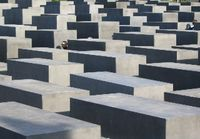Holocaust Museum in Berlin, Germany, the Memorial to the Murdered Jews of Europe
