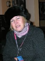 Birgit Scheffle in Leipzig, Germany (Photo by David G. Molyneaux, TheTravelMavens.com)
