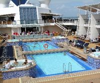 Pool deck on Celebrity Equinox (David G. Molyneaux, TheTravelMavens.com)