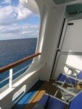 Cove balcony cabins on the Carnival Dream (Photo by David G. Molyneaux, TheTravelMavens.com)