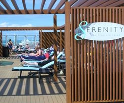 Adults only Serenity on Carnival Dream (Photo by David G. Molyneaux, TheTravelMavens.com)