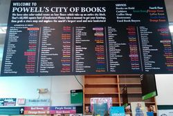 Powells book store, Portland, Oregon (Photo by David G. Molyneaux, TheTravelMavens.com)