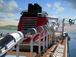 AquaDuck, on the Disney Dream (Drawing by Disney Cruise Line)