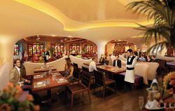 Taste restaurant, Norwegian Epic (a rendering)