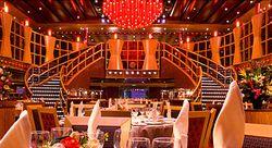 Crimson dining room, Carnival Dream