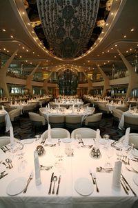 MoonlightSonata, dining room of Celebrity Eclipse