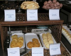 Cookies at no charge on Azamara Journey (Photo by David G. Molyneaux, TheTravelMavens.com)