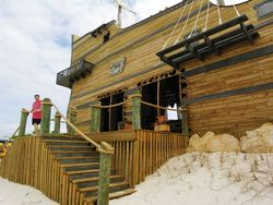 New Captain Morgan Bar on Half Moon Cay (Photo by David G. Molyneaux, TheTravelMavens.com)