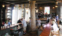 HALCats play at Captain Morgan Bar on Half Moon Cay (Photo by David G. Molyneaux, TheTravelMavens.com)