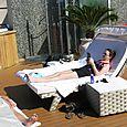 12 Marina Spa deck