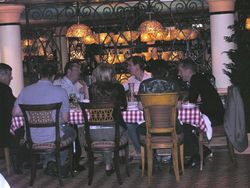 Cucina del Capitano, Italian restaurant on Carnival Magic (Photo by David G. Molyneaux, TheTravelMavens.com)
