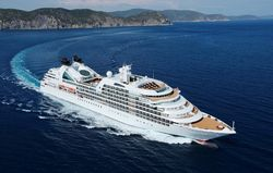 Seabourn Quest in the Mediterranean
