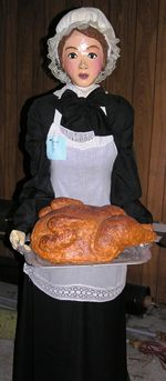 Dickens mannequins in Cambridge, Ohio (TheTravelMavens.com)