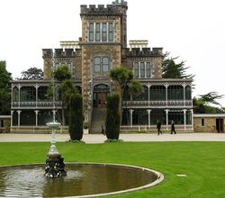 Larnach Castle on Otago Peninsula, near Dunedin, New Zealand (Photo by David G. Molyneaux, TheTravelMavens.com)