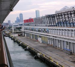 Norwegian Dawn leaves Boston on a voyage to Bermuda and back (Photo by David G. Molyneaux, TheTravelMavens.com)