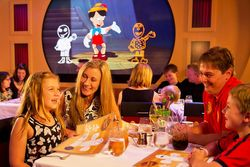 Animator's Palate on Disney Fantasy (Photo by Matt Stroshane, Disney Cruise Line)