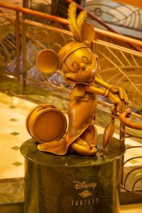 Minnie Mouse on Disney Fantasy (Photo by Matt Stroshane, Disney Cruise Line)