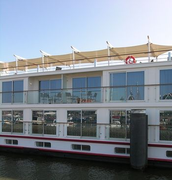 Balconies on Viking Odin (Photo by David G. Molyneaux, TheTravelMavens.com)