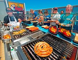 Fat Jimmy's C-Side BBQ on Carnival Breeze (Photo by Andy Newman/Carnival Cruise Lines)