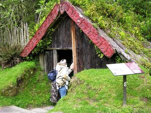 Buried Village in Rotorua, New Zealand (photo by David G. Molyneaux, TheTravelMavens.com)