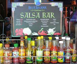 Salsa Bar on the Carnival Breeze (photos by David G. Molyneaux, TheTravelMavens.com)