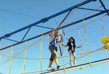 Ropes course on the Carnival Breeze (Photo by David G. Molyneaux, TheTravelMavens.com)Ropesweb12
