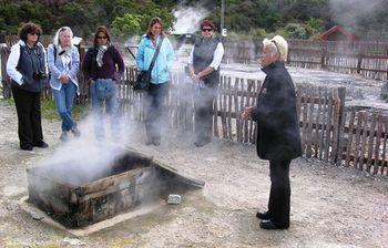Thermal village in Rotorua, New Zealand (Photos by David G. Molyneaux, TheTravelMavens.com)