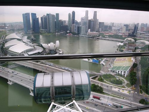 Singapore Flyer, Singapore (Photo by David G. Molyneaux, TheTravelMavens.com)
