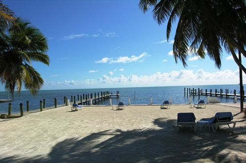 The beach at Pines & Palms resort in Islamorada, Fl (Photo by David G. Molyneaux, TheTravelMavens,com)
