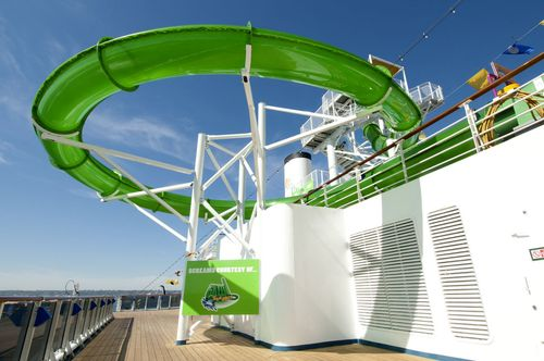 Green Thunder, Carnival Spirit (Photo from Carnival Cruise Lines)