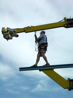 Walking the plank on Norwegian Breakaway (Photo by David G. Molyneaux, TheTravelMavens.com)