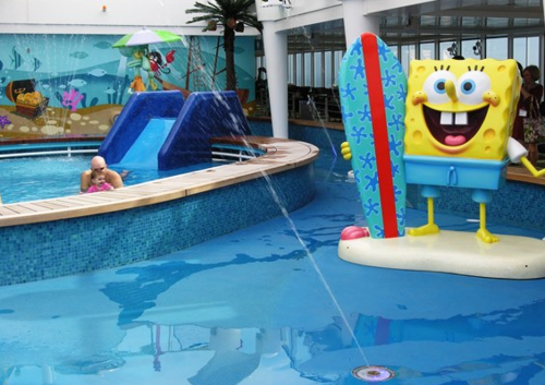 Aqua Park on Norwegian Breakaway (Photo by David G. Molyneaux, TheTravelMavens.com)
