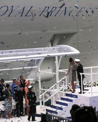 The Duchess of Cambridge at the Royal naming (Photo by David G. Molyneaux, TheTravelMavens.com)