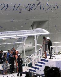 The Duchess of Cambridge at the Royal naming (Photo by David G. Molyneaux, TheTravelMavens.com)