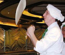 Alfredo's Pizzeria on the new Royal Princess is the largest free pizza restaurant at sea (Photo by David G. Molyneaux, TheTravelMavens.com)