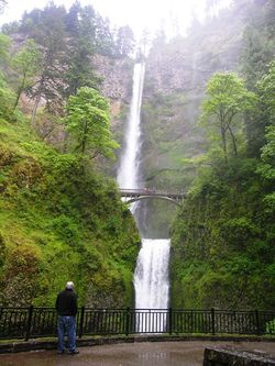 Multnomah Falls (Photo by David G. Molyneaux, TheTravelMavens.com)