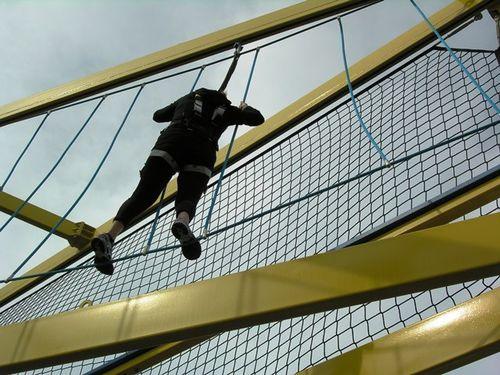 Ropes course on Norwegian Breakaway (Photo by David G. Molyneaux, TheTravelMavens.com)