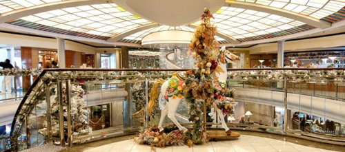 Crystal Cruises spends as much as $100,000 to decorate its ships for Christmas