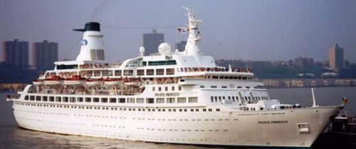 The Pacific Princess in 2000