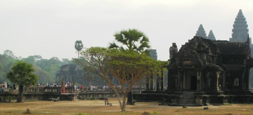 Angkor Wat is the best preserved and most famous of the Angkor temples in Cambodia (Photo by David G. Molyneaux, TheTravelMavens.com)