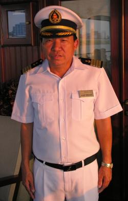 Van Truan, the captain (Photo by David G. Molyneaux, TheTravelMavens.com)